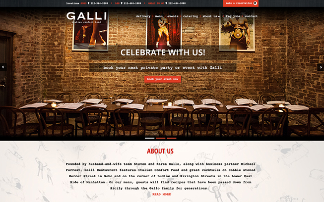 Restaurant Galli New York